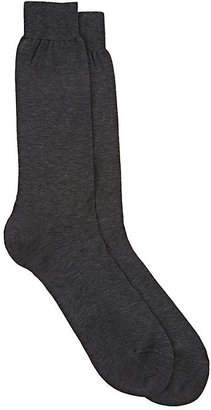 Brioni Men's Cotton Mid-Calf Socks $38 thestylecure.com