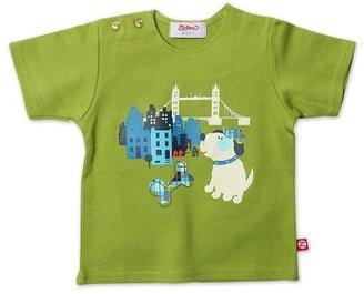 Zutano Infant Baby-Boys O'Reilly Check Short Sleeve Screen Tshirt