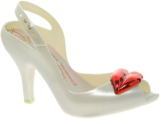Melissa Lady Dragon Lips Heeled Sandals