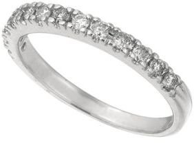 Lord & Taylor Diamond Ring in 14 Kt. White Gold