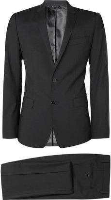 Dolce & Gabbana Navy Martini Stretch-Wool Suit