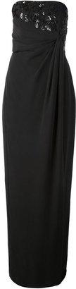 Raoul open shoulder dress
