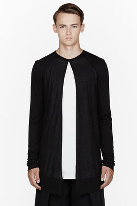 Gareth Pugh Black layered ship t-shirt