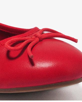 Forever 21 Bow & Trim Ballet Flats