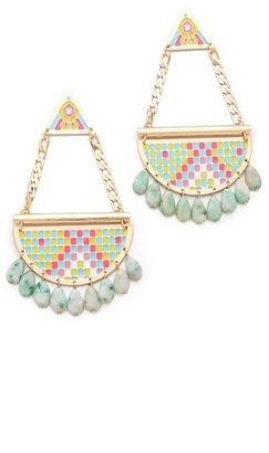 Noir Pastel Hacienda Chandelier Earrings