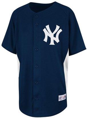 New York Yankees Majestic mlb jersey - boys 8-20