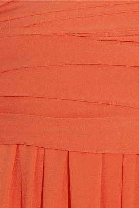 Halston Stretch-jersey gown
