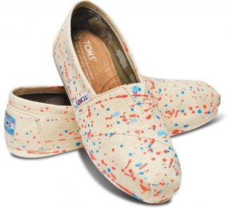 Toms Tyler ramsey speckled dot women's classics