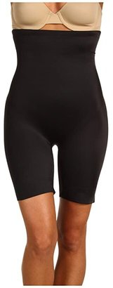 Miraclesuit Shapewear Extra Firm Real Smooth Hi-Waist Thigh Slimmer (Black) Women's Underwear