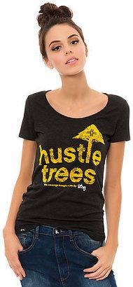 Lrg The Hustle Trees Scoop Tee in Black Heather