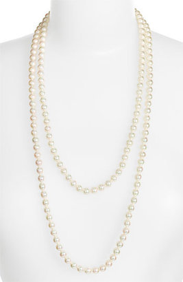 Majorica Women's 7Mm Round Pearl Endless Rope Necklace