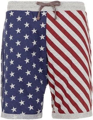 Topman Americana Jersey Shorts