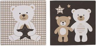 Carter's Baby Bear - 2-Piece Canvas Wall Art