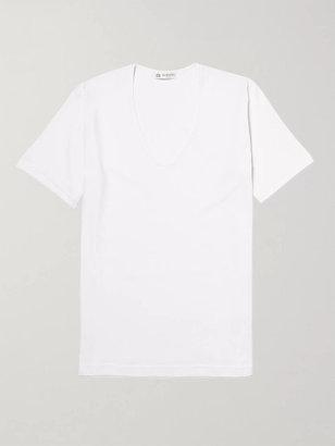 Sunspel Superfine Cotton Underwear T-Shirt