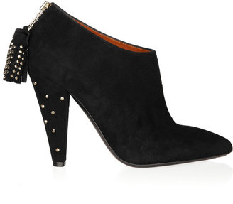 Mulberry Studded suede ankle boots