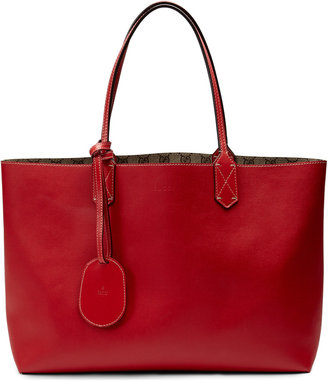 Reversible GG leather tote $1,150 thestylecure.com