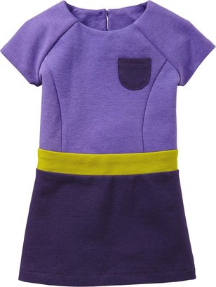 Old Navy Color-Blocked Ponte Dresses for Baby