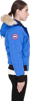 Canada Goose Bright Blue PBI Chilliwack Jacket