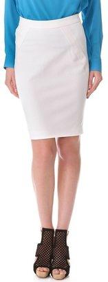 Yigal Azrouel Compact Twill Skirt