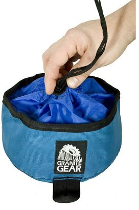 Granite gear grrrub bowl packable dog food bowl - medium