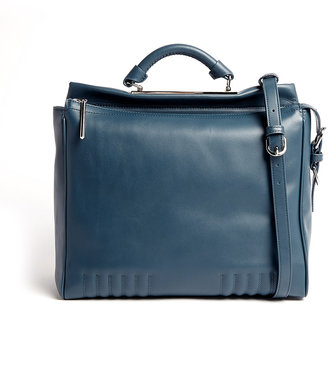 3.1 Phillip Lim Steel Blue Large Ryder Satchel