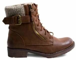 Madden-Girl Fargo Combat Ankle Boots