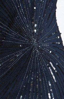 Pisarro Nights Bead & Sequin Shift Dress