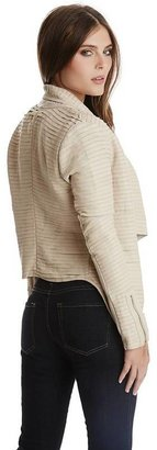 Marciano Shayna Drape Leather Jacket