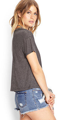 Forever 21 Boxy Knit Tee