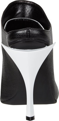 Fendi Jungle Bi-Color Slide Sandals