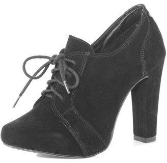 Dorothy Perkins Block heel lace up shoe boot