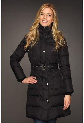 Tommy Hilfiger Side Channel Quilted Coat (Black) - Apparel