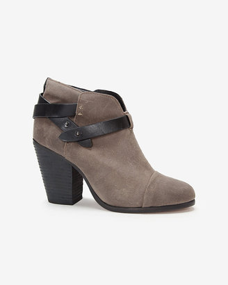 Rag and Bone Rag & bone Harrow Harley Suede Boot: Grey