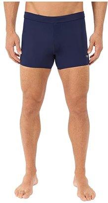 Speedo Shoreline Square Leg (Black) Men's Swimwear
