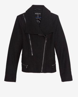 Intermix Menchi For Wide Lapel Zipper Jacket