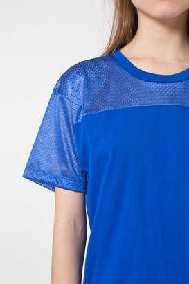 American Apparel Unisex Athletic Contrast Tee