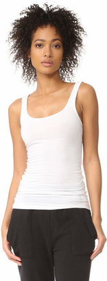 James Perse Brushed Jersey Long Tank $55 thestylecure.com