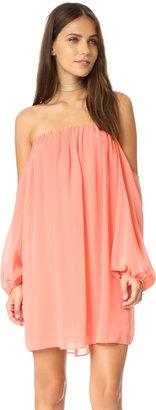 MISA Off Shoulder Dress $150 thestylecure.com