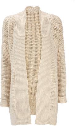 Wallis Cream Long Cardigan