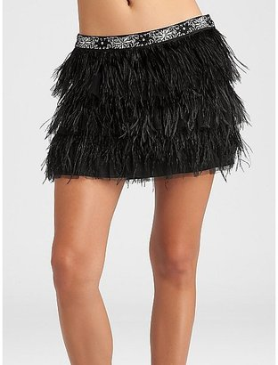 GUESS Feather Skirt