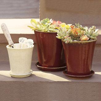 Gump's Ceramic Planters