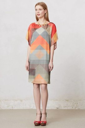 Anthropologie Abstracted Rays Tunic Dress