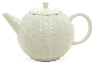 Sweater Teapot, White