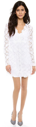 Diane von Furstenberg Hippolyte Crochet Dress