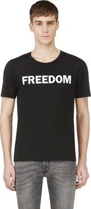BLK DNM Black Printed T-Shirt