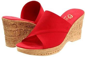Onex Christina (Beiege Eldorado) Women's Wedge Shoes