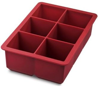 Tovolo Red King Cube Ice Tray