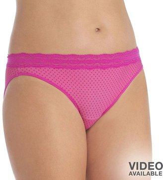 Vanity Fair illumination lace-trim bikini panty - 18208