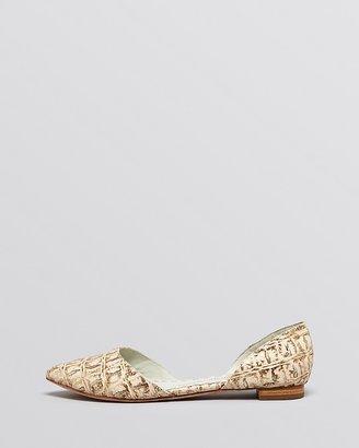 Alice + Olivia Pointed Toe Flats - Hilary d'Orsay
