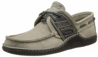 TBS Men's Globek Boat Shoes, Beige (Loutre + Nuit D8A63), 11 UK